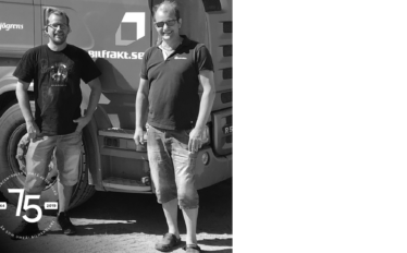 Sjögrens trafik köpte Motorcentralens första lastbil