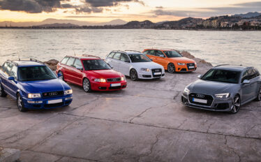 Audi Sport firar 25 år med Audi RS
