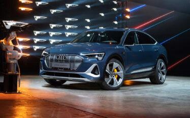 Världspremiär för eldrivna Audi e-tron Sportback